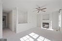 Master bedroom with multiple closets - 1174 N VERNON ST, ARLINGTON
