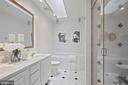 MAster bath - 1174 N VERNON ST, ARLINGTON