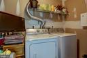 Laundry room- upper level - 7700 DUNEIDEN LN, MANASSAS