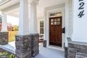 Beautiful front door - 224 N NELSON ST, ARLINGTON