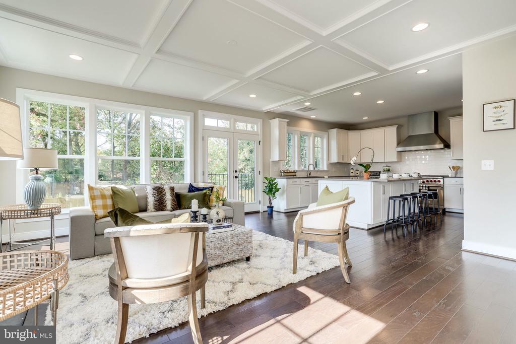 Livingroom - 224 N NELSON ST, ARLINGTON