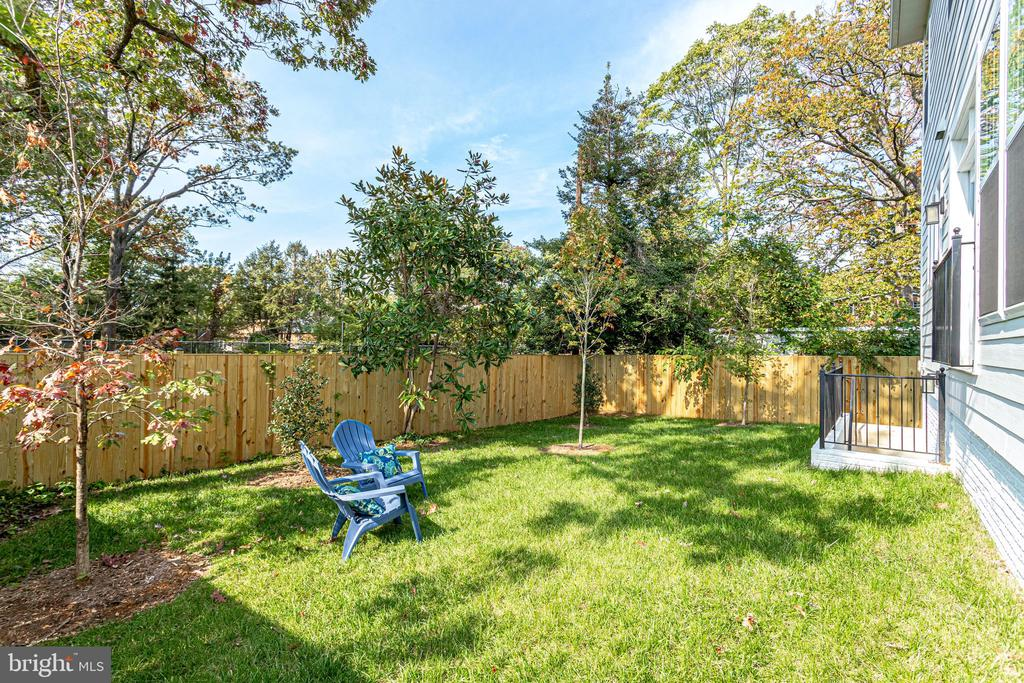 Backyard - 224 N NELSON ST, ARLINGTON