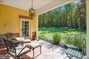 Private Patio outside Kitchen - 20448 OATLANDS CHASE PL, LEESBURG