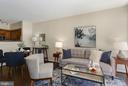 Living Room Freshly Painted Top-to-Bottom! - 1001 N RANDOLPH ST #214, ARLINGTON