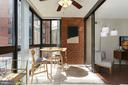 Sunroom - Use as Formal Dining or a Fun Bar Area! - 1001 N RANDOLPH ST #214, ARLINGTON