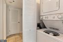 Washer & Dryer Located Inside the Condo! - 1001 N RANDOLPH ST #214, ARLINGTON