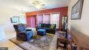Walk out to rear patio from living room - 4 BLUEFIELD LN, FREDERICKSBURG