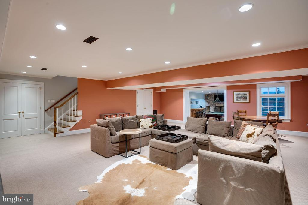 Recreation Room - 1201 TOWLSTON RD, GREAT FALLS