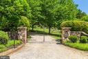 Gated Entrance - 1201 TOWLSTON RD, GREAT FALLS
