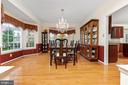 Formal Dining Room - 20588 TANGLEWOOD WAY, STERLING