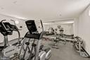 Well-equipped on-site private gym - 1301 N COURTHOUSE RD #801, ARLINGTON