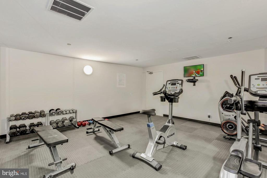 Private on-site gym - 1301 N COURTHOUSE RD #801, ARLINGTON