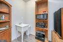 Utility sink with LVP flooring in the bonus room - 20 VAN HORN LN, STAFFORD