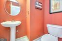 Half bathroom is spacious - 20 VAN HORN LN, STAFFORD