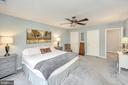 Ample space in your new primary bedroom - 20 VAN HORN LN, STAFFORD