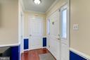 Foyer - 3608 EAGLE ROCK CT, WOODBRIDGE