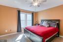 Master bedroom - 3608 EAGLE ROCK CT, WOODBRIDGE