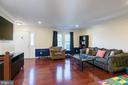 Beautiful hardwood floors - 3608 EAGLE ROCK CT, WOODBRIDGE