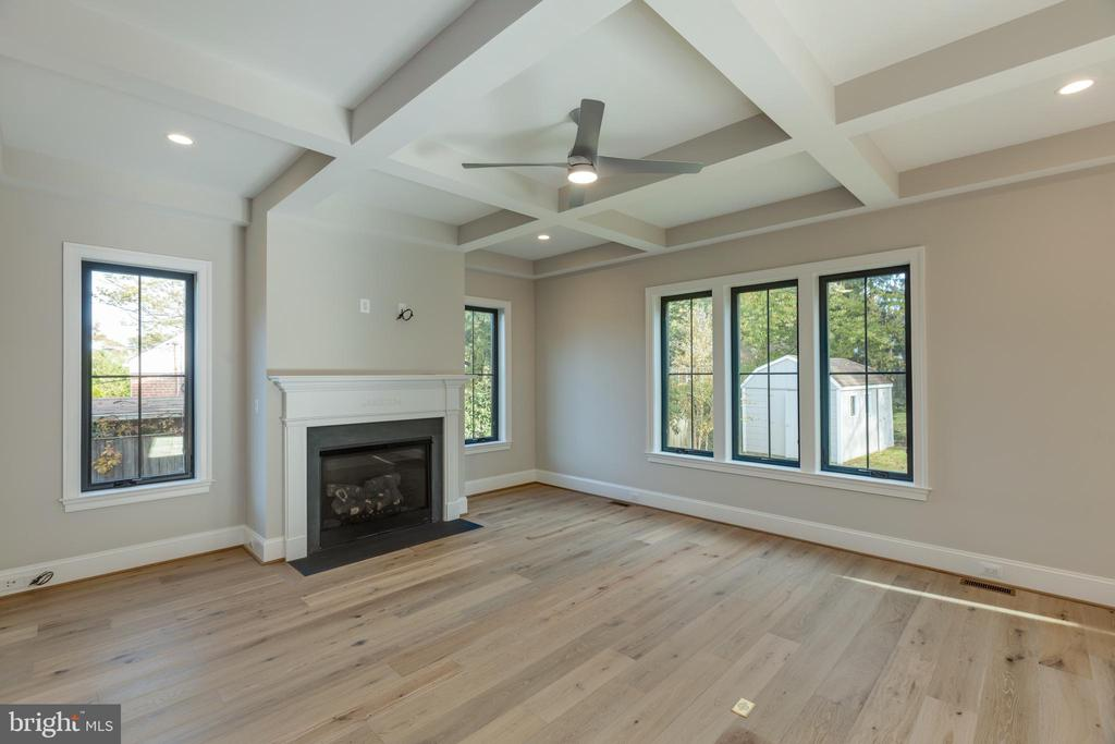 Cozy Gas Fireplace - 7401 TOWER ST, FALLS CHURCH