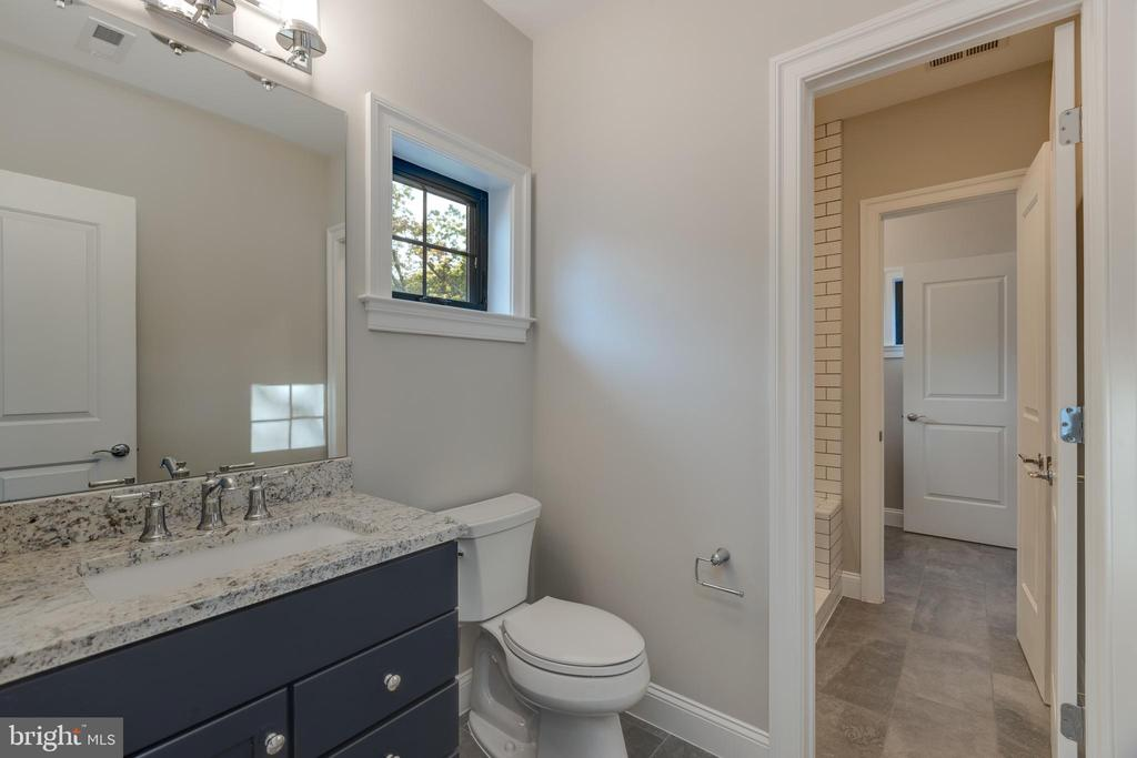 Jack and Jill Bath with Sinks on Both Sides! - 7401 TOWER ST, FALLS CHURCH