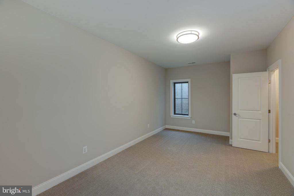 Large Lower Level Bedroom - 7401 TOWER ST, FALLS CHURCH