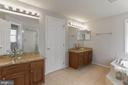 Updated Vanities in the Primary Bath - 10383 SESAME CT, MANASSAS