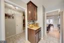 Granite Counters and Tile Backsplash - 1168 N VERMONT ST, ARLINGTON