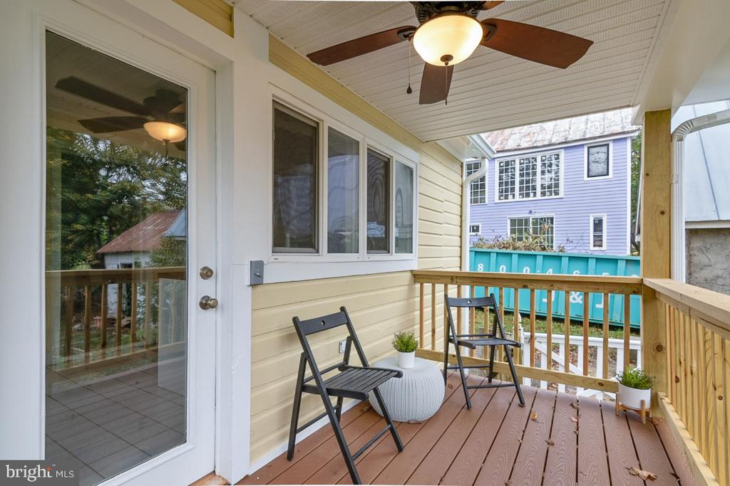 Charming Covered Front Porch - 3635 BUCKEYSTOWN PIKE, BUCKEYSTOWN