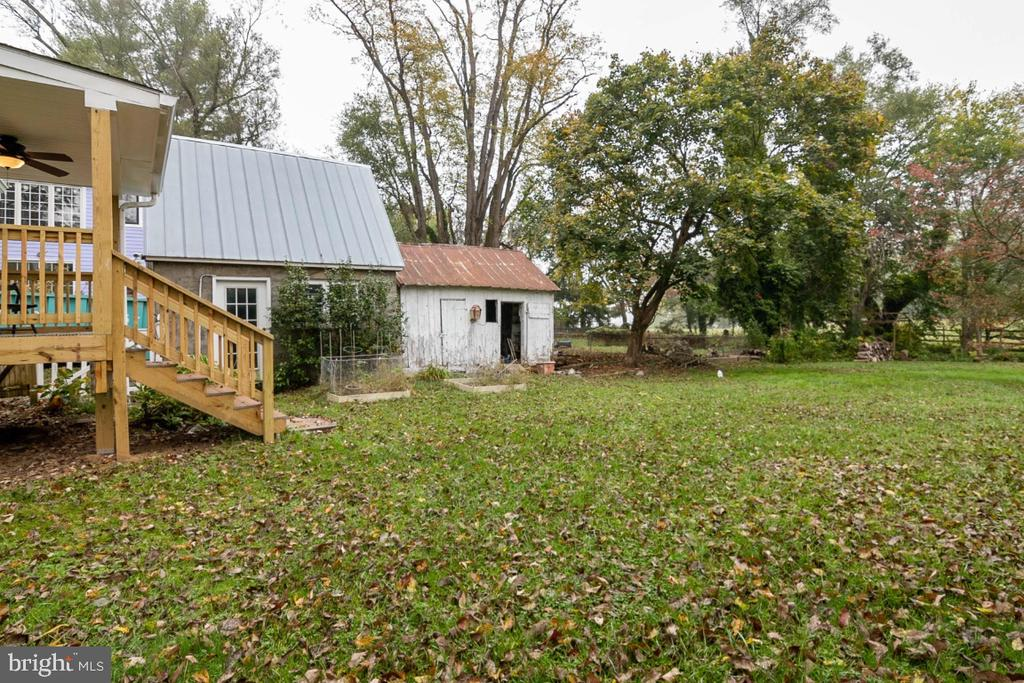 Home also features an outbuilding for gardening - 3635 BUCKEYSTOWN PIKE, BUCKEYSTOWN