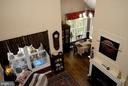 Beautiful loft view of living room w/fireplace - 46580 DRYSDALE TER #300, STERLING
