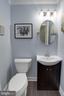 Updated main level powder room - 5 DARIAN CT, STERLING