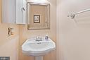 Half bath on main level - 55 MILLARD CT, STERLING