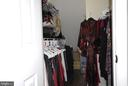 Owner's walk in closet - 46580 DRYSDALE TER #300, STERLING
