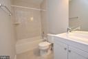 Lower Level Full Bathroom - 248 KIRBY ST, MANASSAS PARK