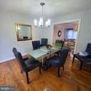 Dining Area - 9720 KING GEORGE DR, MANASSAS