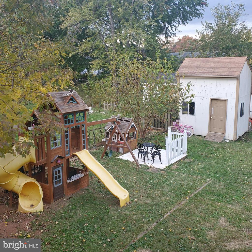 Shed & Playground - 9720 KING GEORGE DR, MANASSAS