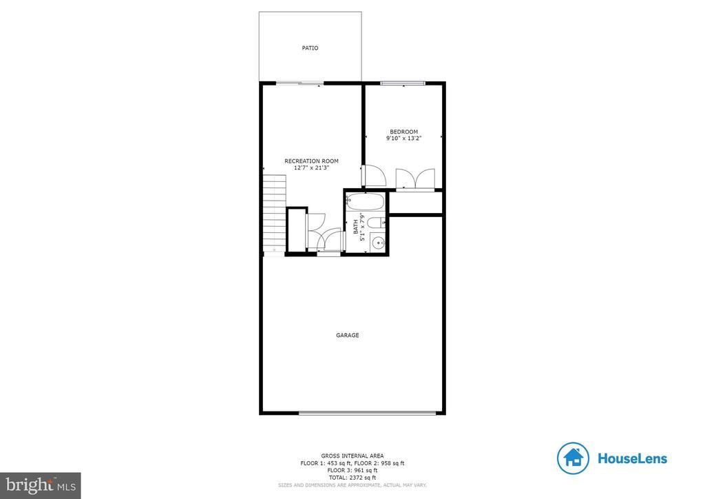 Lower Level Floor Plan - 42762 KEILLER TER, ASHBURN
