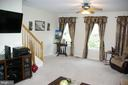 Family room - 12889 TITANIA WAY, WOODBRIDGE