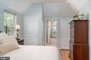 Primary bedroom with plenty of closets - 3502 HALCYON DR, ALEXANDRIA