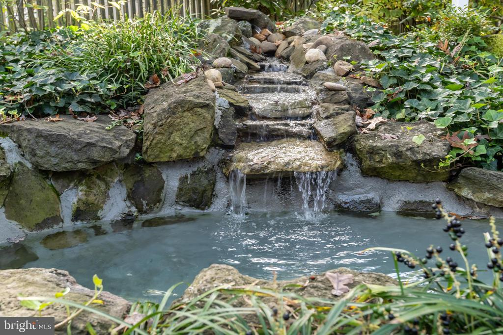Enjoy the sound of the water fall - 3502 HALCYON DR, ALEXANDRIA
