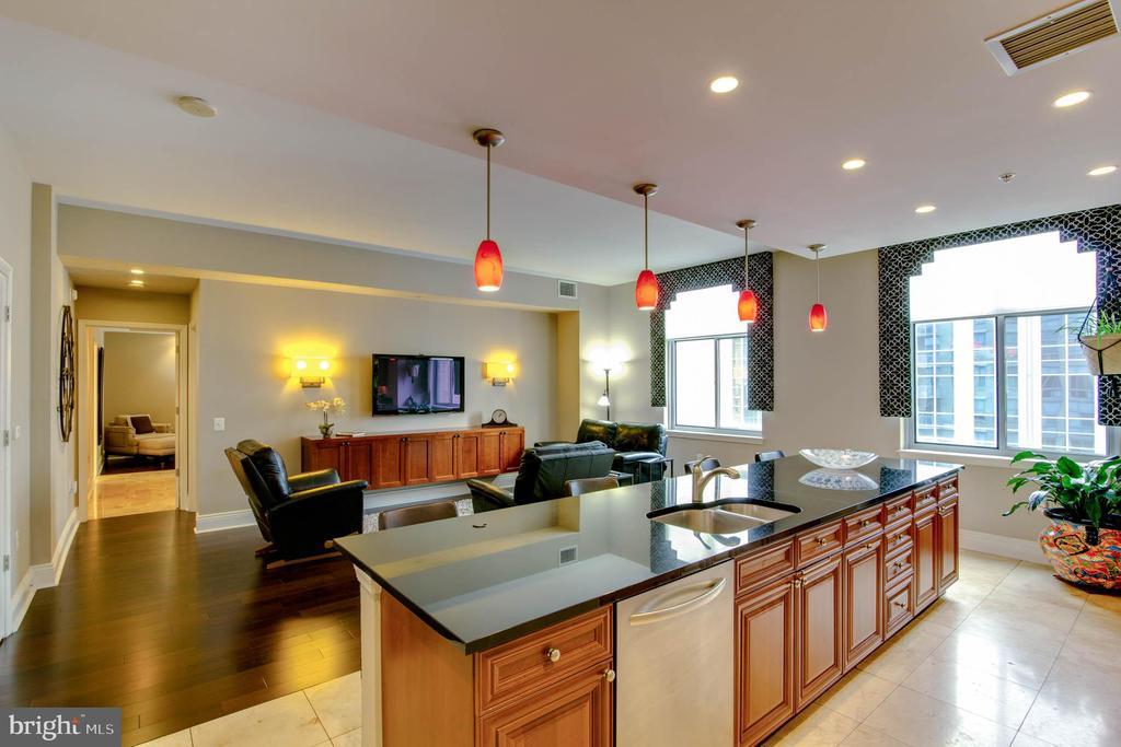 Kitchen to Family Room - 11990 MARKET ST #1803, RESTON