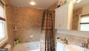 Renovated Full Bath with Oversized Jetted Tub - 7707 DUBLIN DR, MANASSAS