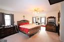 Spacious Primary Bedroom on Upper Level - 7707 DUBLIN DR, MANASSAS