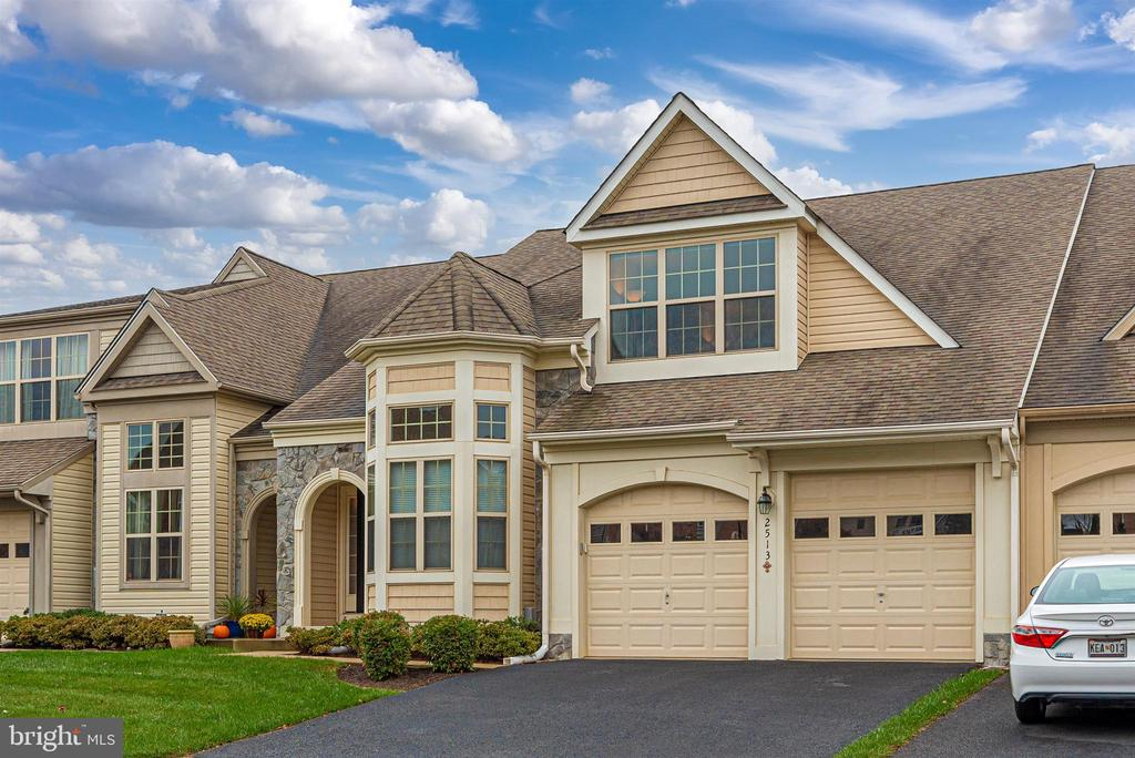 Enjoy the generous two car garage. - 2513 MILL RACE RD, FREDERICK
