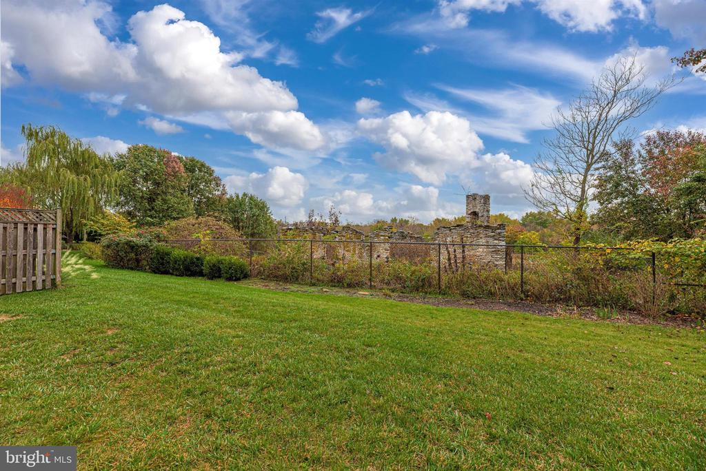 Backyard privacy and views. - 2513 MILL RACE RD, FREDERICK