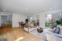 Light -filled family room. - 4319 MURDOCK MILL RD NW, WASHINGTON