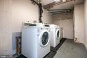 Additional laundry in basement - 3025 PORTER ST NW #23, WASHINGTON