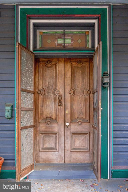 Architecturally exquisite front door - 210 N KING ST, LEESBURG