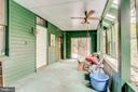 Sun room/sleeping porch adds extra space - 210 N KING ST, LEESBURG
