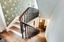 Central stairs to second level - 210 N KING ST, LEESBURG